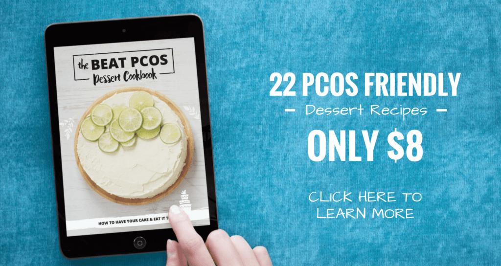 Beat PCOS Dessert Cookbook by Smart Fertility Choices