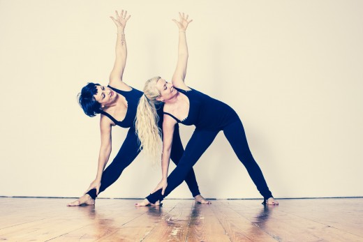 Extended Triangle Pose