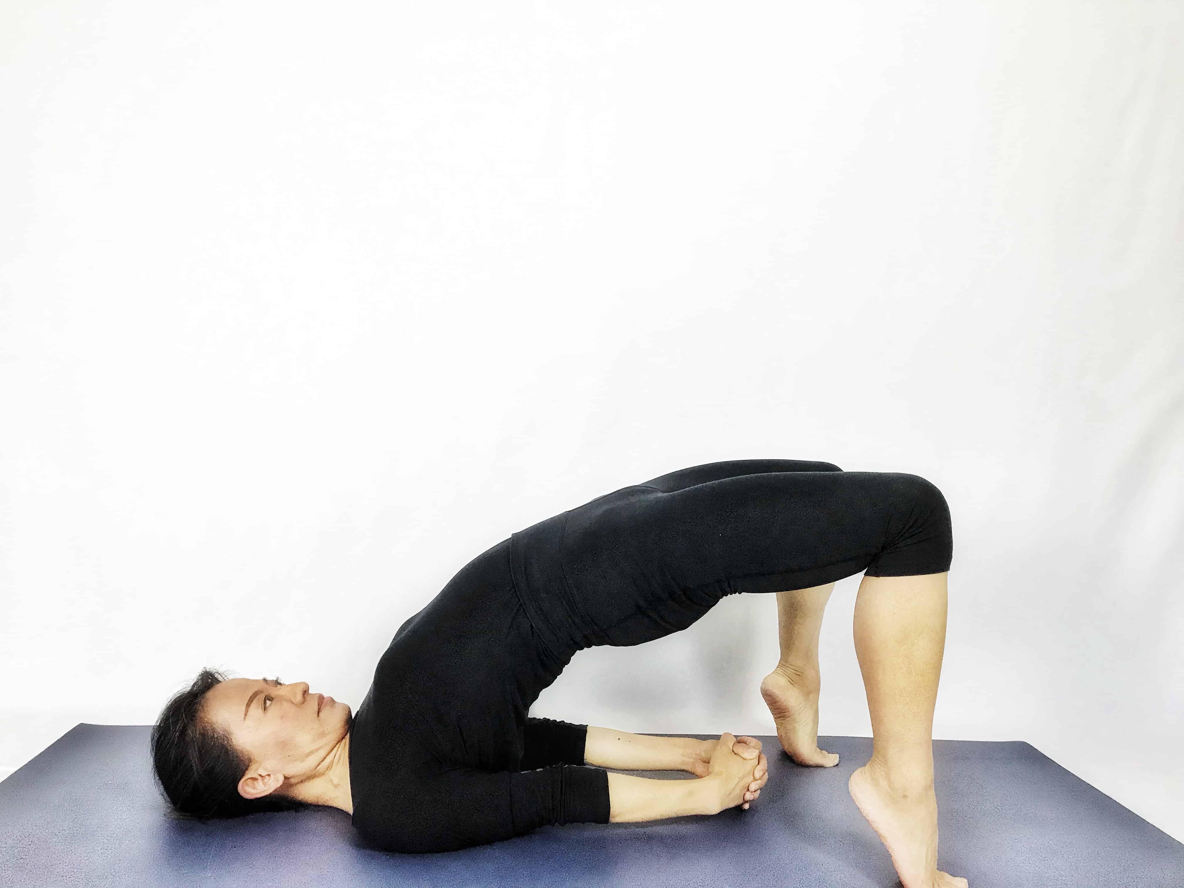 Bridge inversion yoga