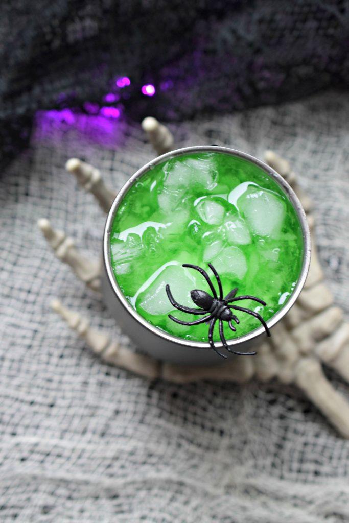 Spooky Halloween Cocktail Recipe - Phantom Potion